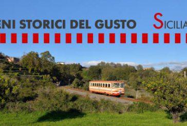 I treni storici del gusto sui binari dall'Etna all'Alcantara