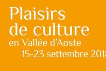 'Plaisirs de Culture', in autunno la VdA invita a scoprire il proprio patrimonio