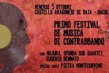 Eugenio Bennato al Primo festival di musiche di contrabbando al Parco dei Campi Flegrei