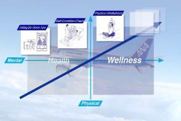 ANA lancia il programma 'Travel Wellness' per ricaricarsi in volo
