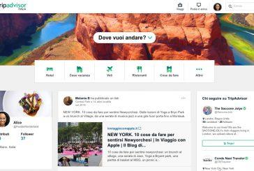 Da oggi online le nuove funzionalità di TripAdvisor