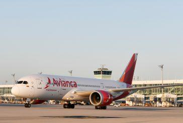 Avianca sospende voli interni in Colombia fino al 12 aprile