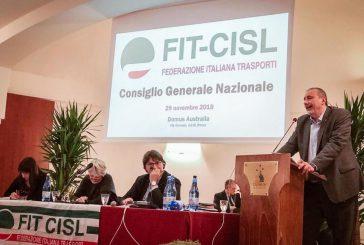 Fit Cisl, Pellecchia eletto segretario generale. Succede a Piras