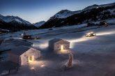A Livigno si può dormire in camere di neve a 0 gradi
