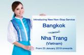 Bangkok Airways lancia un nuovo volo non-stop per Nha Trang in Vietnam