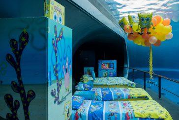 Notte all'Acquario di Genova nella stanza di SpongeBob, al via il contest