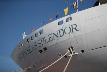 Fincantieri, varata ad Ancona la Seven Seas Splendor