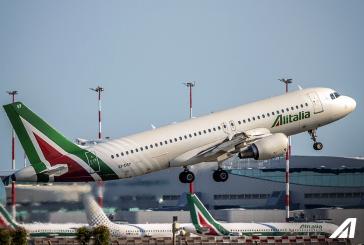 Alitalia, da fine ottobre 3 voli al giorno tra Bergamo-Fiumicino