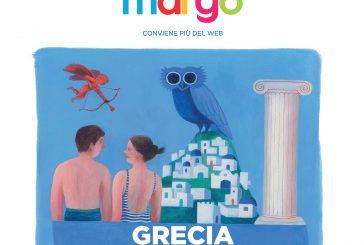 In adv il catalogo 'Grecia' di Margò: 280 hotel per 20 diverse isole