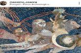Pompei, Osanna posta su Instagram foto mosaici non ancora visitabili