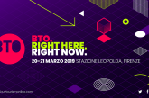 Countdown per 'BTO11 | Right here, right now', focus sullo 'smart tourism'
