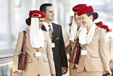Emirates cerca personale: a luglio selezioni anche in Sicilia