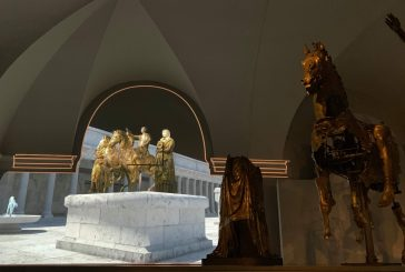 Nuova sala immersiva per i Bronzi dorati di Pergola