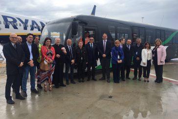 All'aeroporto di Palermo arrivano i nuovi bus interpista