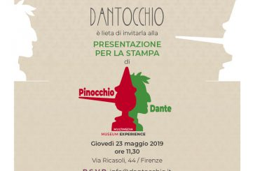 Domani a Firenze la presentazione del Dantocchio, museo dedicato a Dante e Pinocchio
