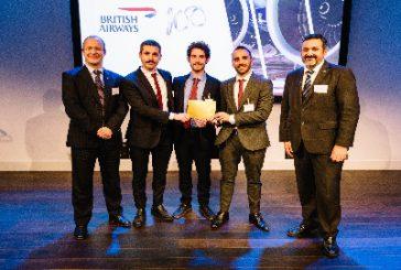 Team di studenti abruzzesi vince sfida promossa da British Airways