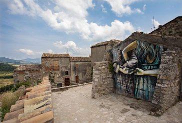 Street Art in 'real time' per rivitalizzare l'antico borgo di Civitacampomarano