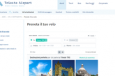 Trieste Airport: nuovi servizi per la prenotazione dei voli online