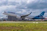 Airbus consegna il primo A321LR ad Air Transat