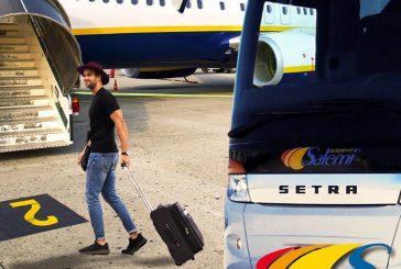 Più bus da Punta Raisi alle località del trapanese: ecco tutte le nuove tratte
