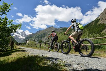 Su e giù per la Valle di Cogne in sella a una mountain bike