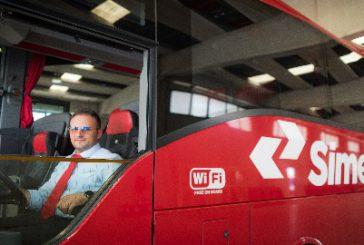 Tariffe trasparenti per Natale sui bus di Simet tra nord e sud Italia