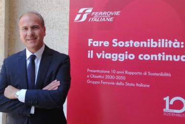 Battisti e l'impegno di Fs per la sostenibilità: +90mln clienti sceglieranno treno entro il 2023