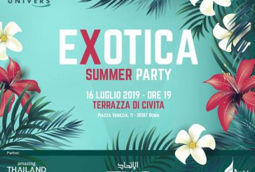 'Exotica – Summer Party' evento estivo di Univers con la new entry Misasi