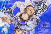 La sirena Lighea in mostra nell'Isola Bella di Taormina