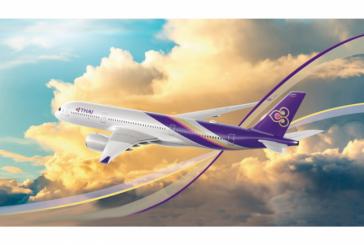 Thai Airways incrementa l'operativo per Bangkok da Fiumicino