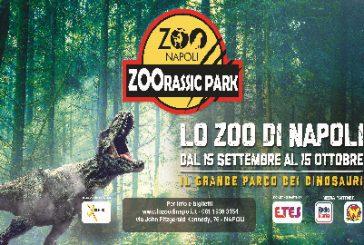 Allo Zoo di Napoli arriva 'Zoorassik Park'
