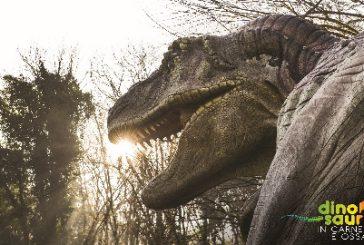 Dinosauri in carne e ossa in mostra nell'area megalitica di Aosta