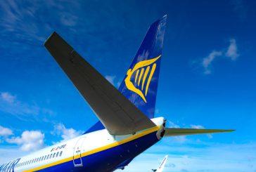 A dicembre il 91% dei voli Ryanair è arrivato in orario