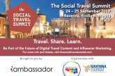 Blogger e influencer al Social Travel Summit a Ravenna