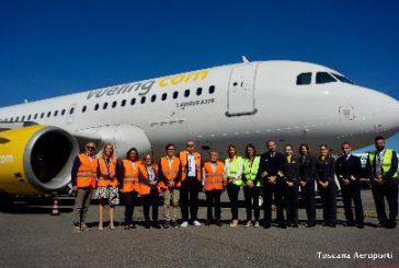 Vueling inaugura 4 nuove rotte da Firenze e aggiunge un aereo A319