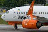 SkyUp, volo speciale Napoli-Kyiv per il 23 marzo