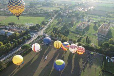 XI edizione Festival Internazionale delle Mongolfiere in volo su Paestum