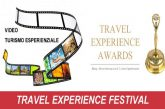 Travel Experice Festival, novità di Bitesp per premiare gli operatori esperienziali