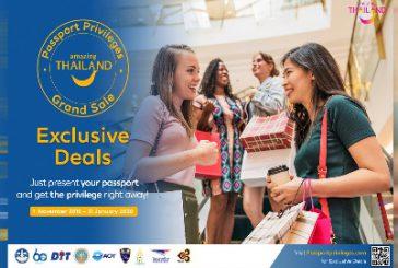La Thailandia incentiva la spesa turistica con sconti e promozioni fino al 31 gennaio