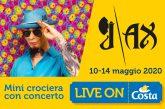 Concerto di J-Ax a bordo di Costa Magica con 'Live on Costa'