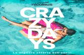 Nicolaus dà il via alle vendite dell'estate 2020 e lancia i 'Crazy Days'
