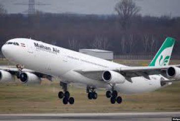 Anche l'Italia blocca i voli Mahan Air, plauso degli Usa