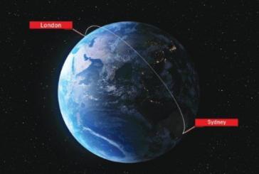 Qantas sperimenta altro volo da record, stavolta da Londra a Sydney
