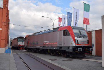 Bombardier presenta a Vado Ligure la sua 2millesima locomotiva