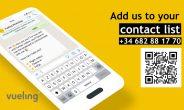 Ora Vueling comunica con i suoi passeggeri su WhatsApp