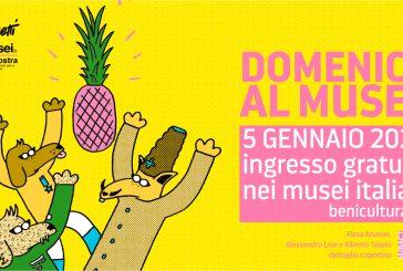 Doppia apertura straordinaria per i musei italiani nel primo weekend del 2020