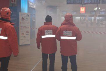 Principio di incendio all'aeroporto di Palermo: ma è un'esercitazione