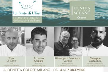 Le Soste di Ulisse porta a Identità Golose Milano il top della cucina siciliana