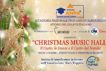 'Christmas Music Hall', serata di beneficenza organizzata dall'ANPA