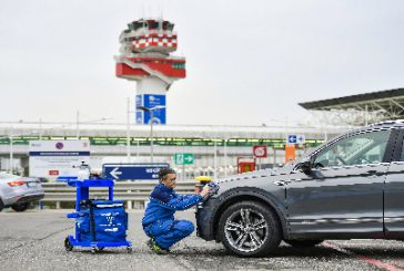 Lavaggio dell'auto eco grazie alla partnership tra AdR, Telepass e Wash Out